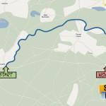 Czarne - Młynki 17 km