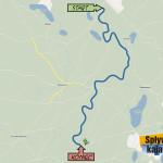 Wdecki Młyn - Łuby 14 km