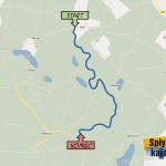Wda - Żurawki 12 km